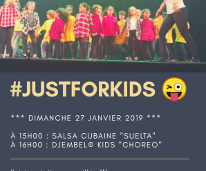 Stage enfants salsa et djembel Just For Kids