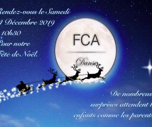 Fête de Noël 2019 du FCA