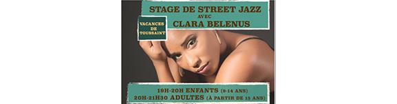 Stage Street Jazz Enfants et Adultes