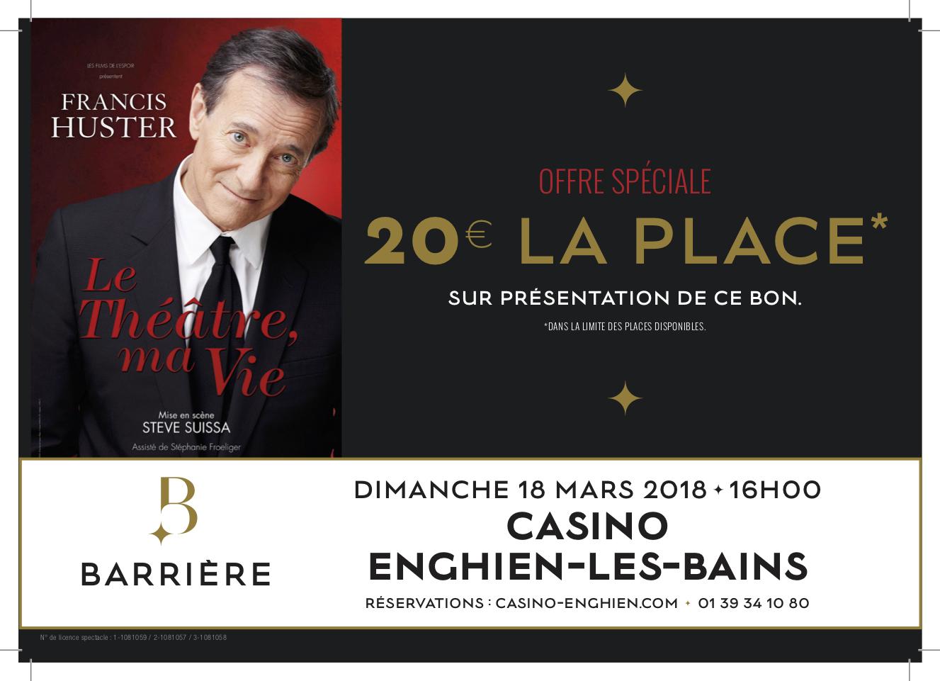 Spectacles Casino d'Enghien