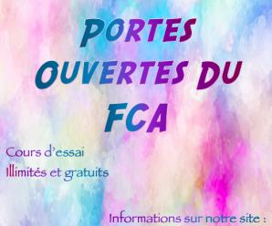 Rentrée et Portes Ouvertes du FCA