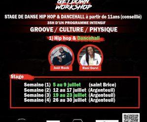 The GetDown Workshop spécial «Hip-Hop/Dancehall» 2021